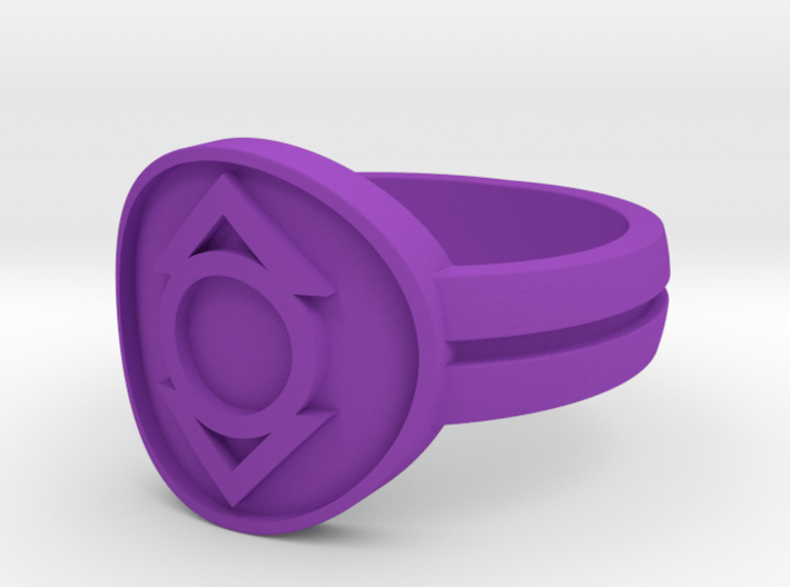 IndigoTribe Double Banded (Sz 5-15) 3d printed