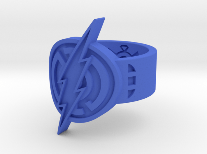 Blue Flash (Sz 5-15) 3d printed