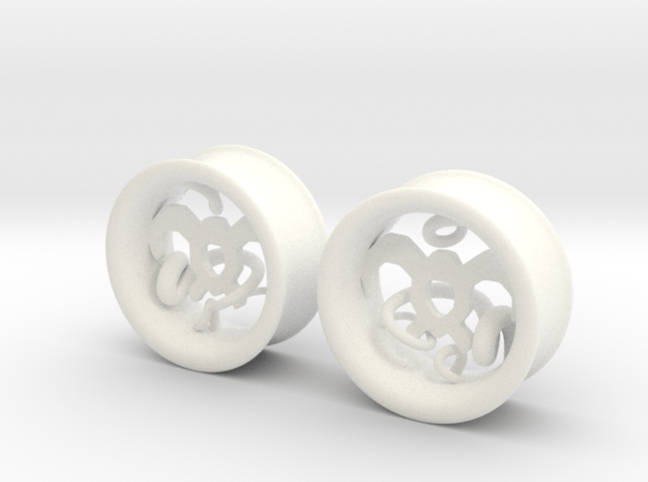 Wind Tamer 1 Inch Tunnels 3d printed