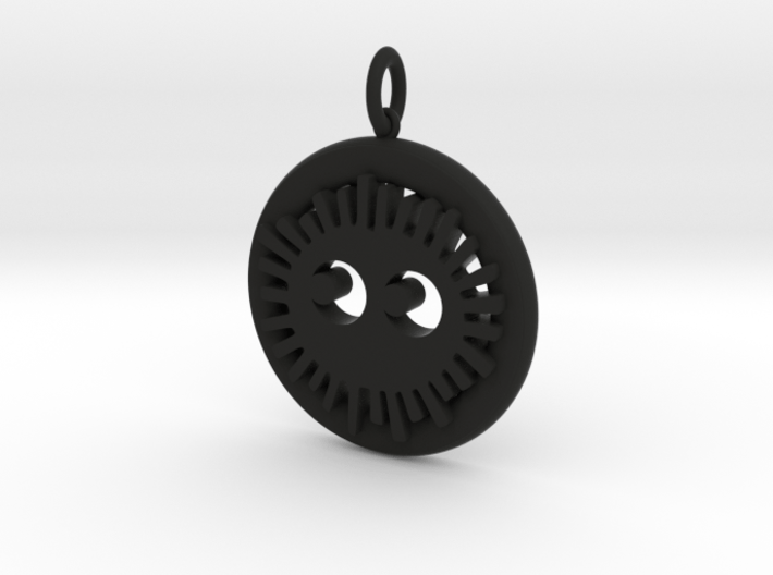 Soot Sprite Pendant 3d printed