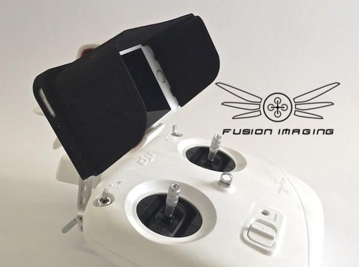 iPhone 5 / 5s Visor / FPV Deep Hood - Easy Glide 3d printed iPhone 5 / 5s Visor / FPV Hood