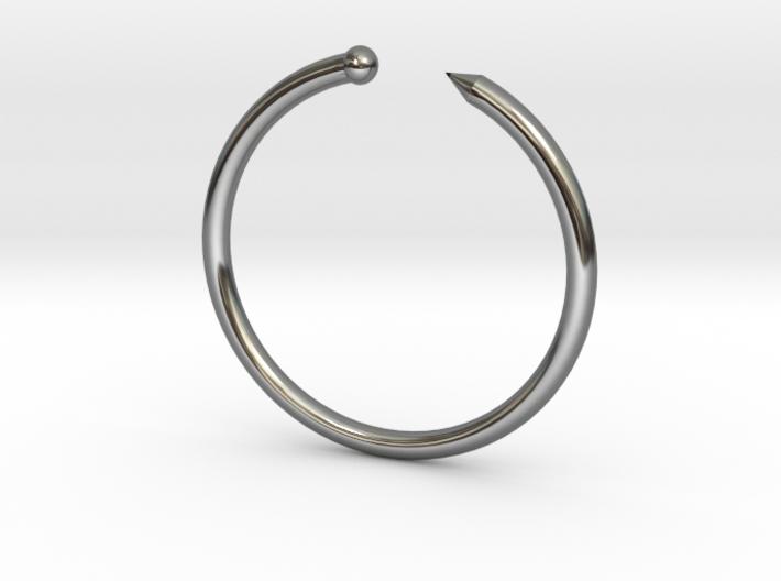 Serpent Ring - Sz. 5 3d printed