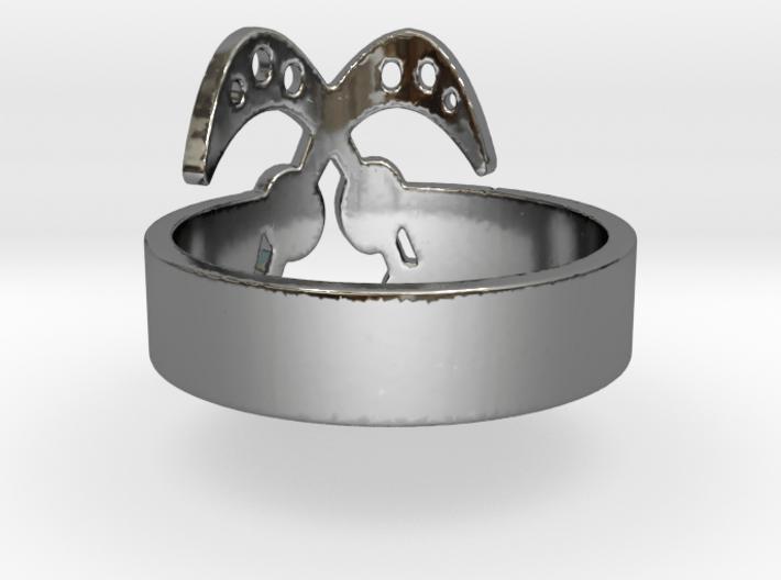 AKOFENA Ring Size 7.75 3d printed