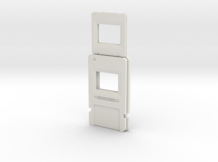 Resident Evil 0: microfilm frame 3d printed