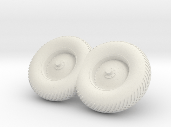 09-Folded LRV - Right Wheels 3d printed