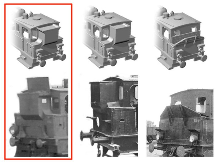 DSB F class N scale (funnel shaped extended tender 3d printed Browser my shop to find the other versions
