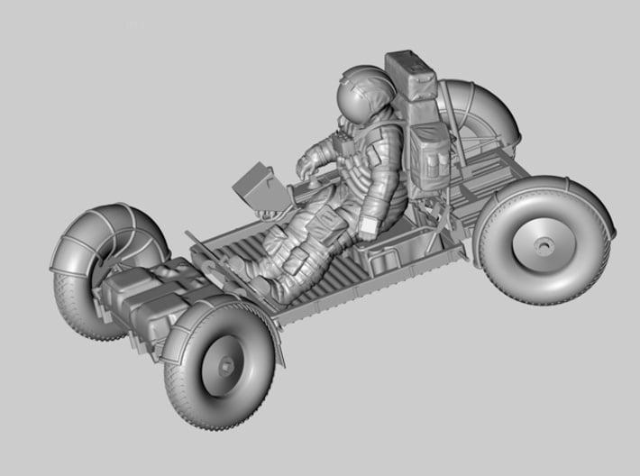 1:32 Apollo Astronaut /LRV(Lunar Roving Vehicle)  3d printed