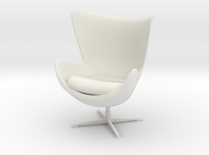 Egg Chair by Arne Jacobsen 3d printed
