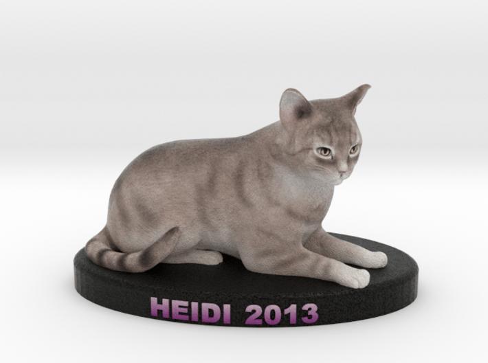 Custom Cat Figurine - Heidi 3d printed