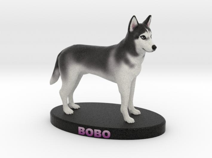 Custom Dog Figurine - Chabrui 3d printed