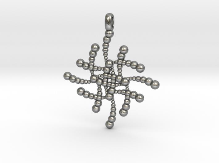 SUBATOMICAL Spheres Designer Jewelry Pendant. 3d printed
