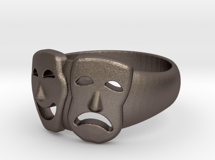 Theater Ring 18 Id 3d printed