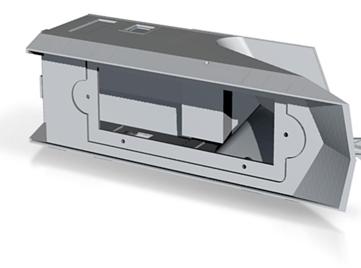 S Scale CN55600-13 Wingless Snowplow Body 3d printed