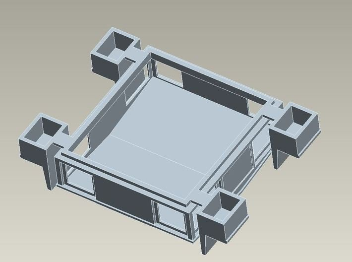 HO Cupola For CNR Double Ended Plow 3d printed