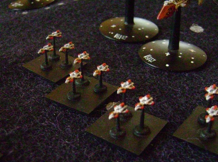 BFG Avenger Bombers (x24) 3d printed
