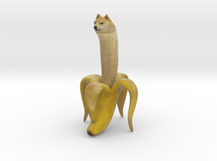 Banana Doge for Scale 3d printed
