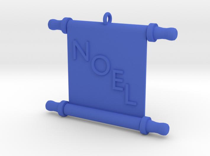 Ornament, Scroll, Noel 3d printed