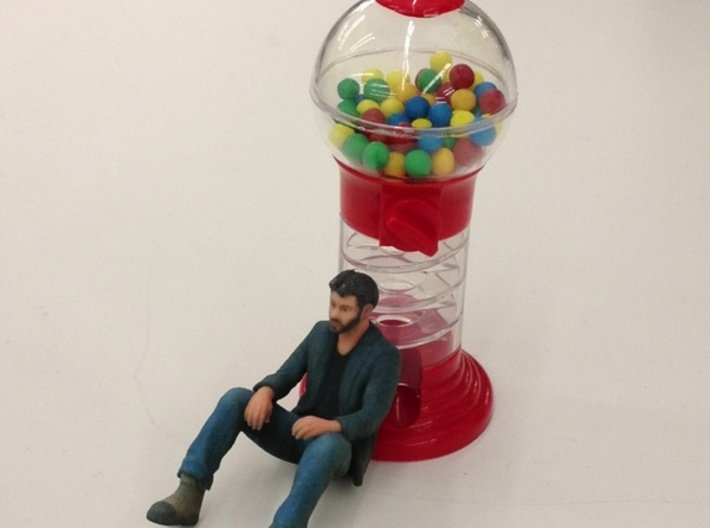 A Little Sad Keanu Reeves 3d printed He's sad because he has no quarters. (courtesy of dberkowitz on Pinterest)