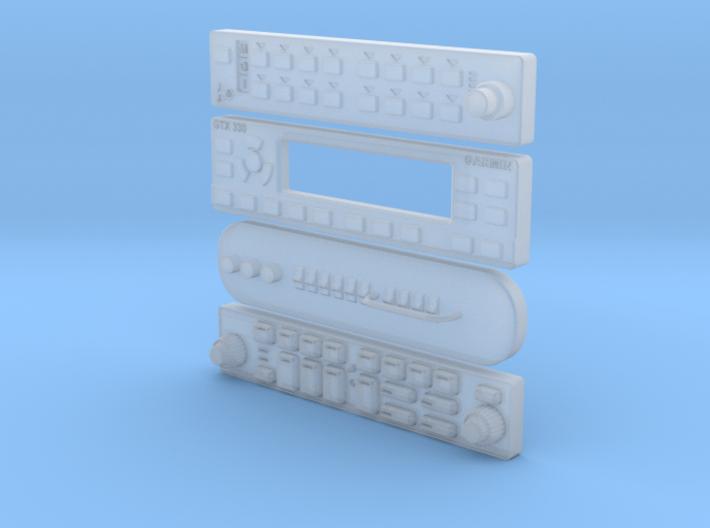 RADIOS 1:6 scale 3d printed