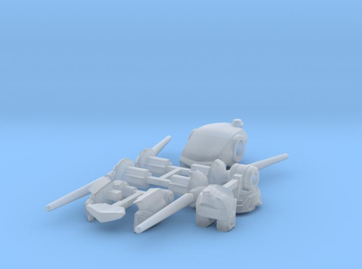 VF-1J/K Custom Head Unit 3d printed