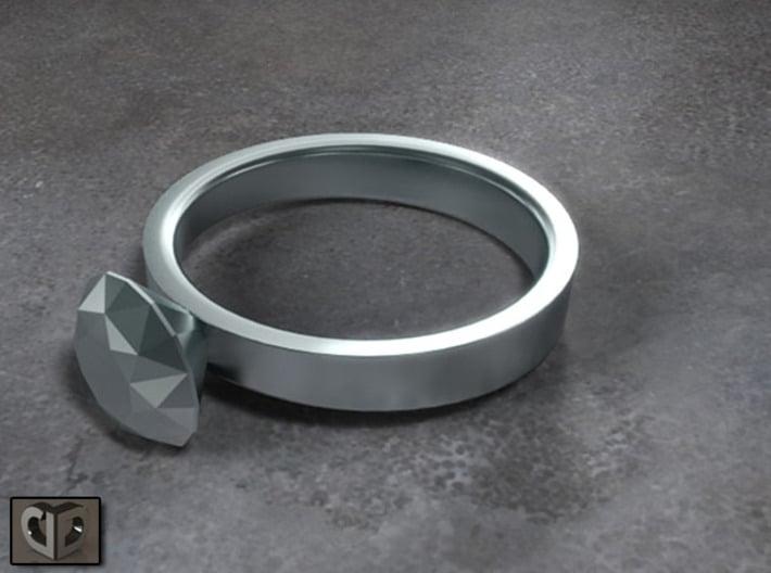 Ring - Diamond 3d printed Digital Preview