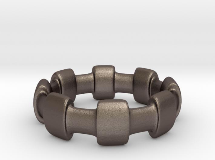 Ring - Crown 3d printed