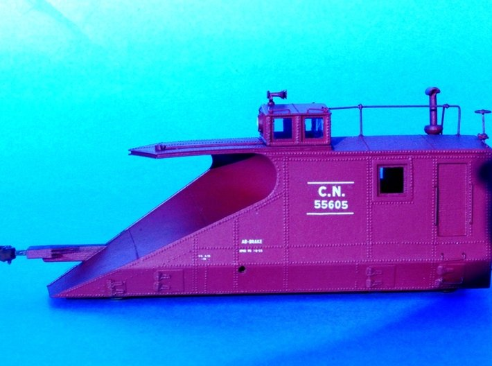 HO CN #55600-55613 Wingless Body 3d printed