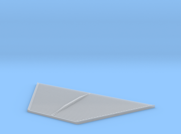02-Aft Section Underside 3d printed