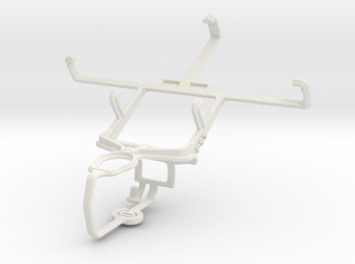 Controller mount for PS3 & ZTE Blade V 3d printed