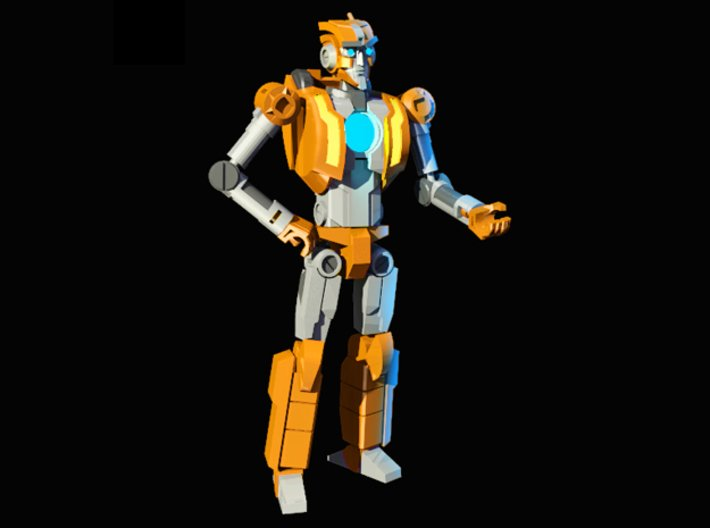 Transformers Comics Tribute - MTMTE Rung 3d printed