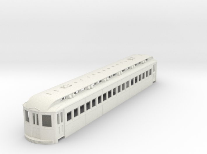 O Scale L&WV Short Steel Coach body 3d printed