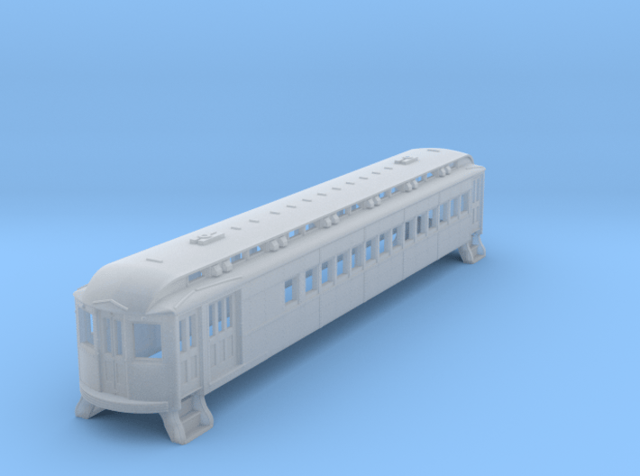 N Scale L&WV Short Steel Combine body shell 3d printed