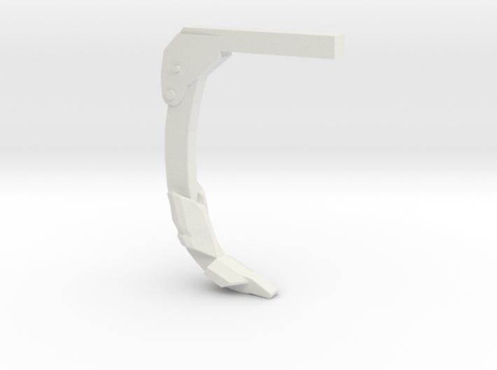 disc ripper tiger ripper shank 1/64 scale (s scale 3d printed