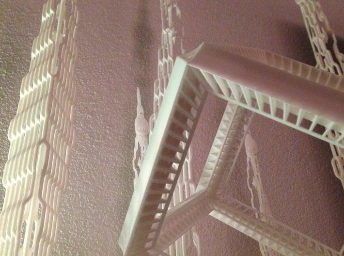 دبي هندسة معمارية 3d printed