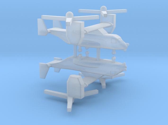 1/600 CV-22 / MV-22 Osprey (x2) 3d printed