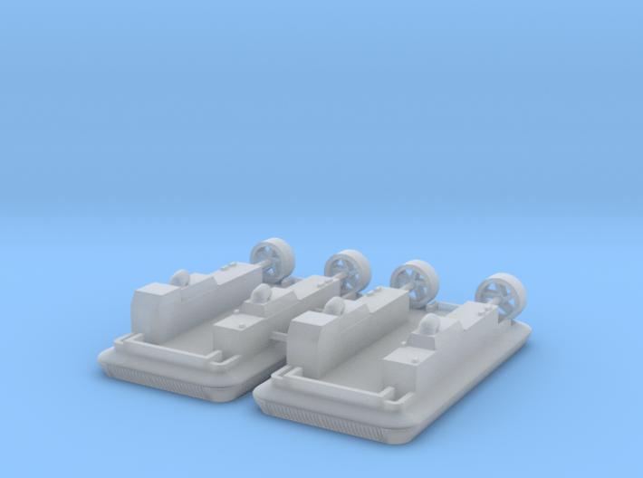 1/600 LCAC - Landing Craft Air Cushion (x2) 3d printed