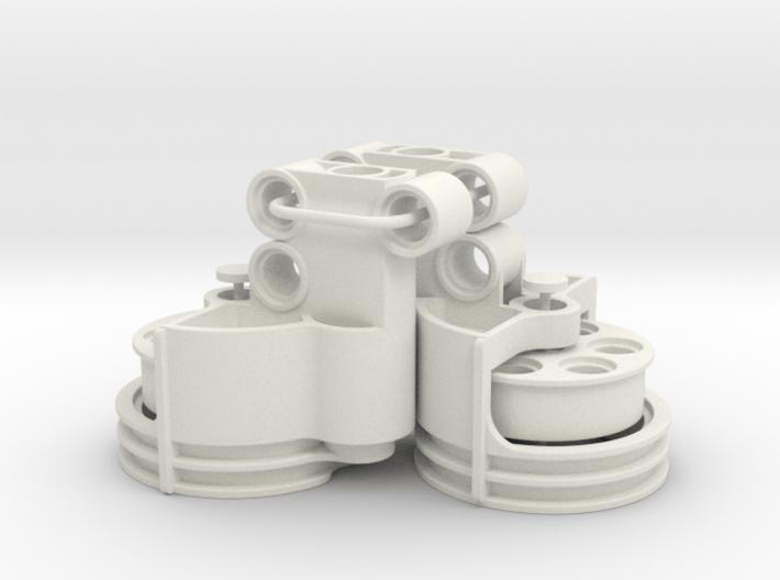 Portal Axle Rear 3d printed