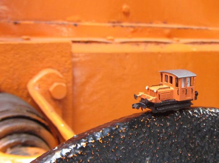 DSB Traktor 57 N gauge 3d printed