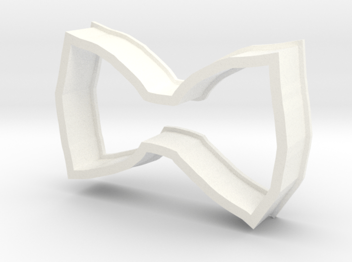 Bow Cookie Cutter 3d printed