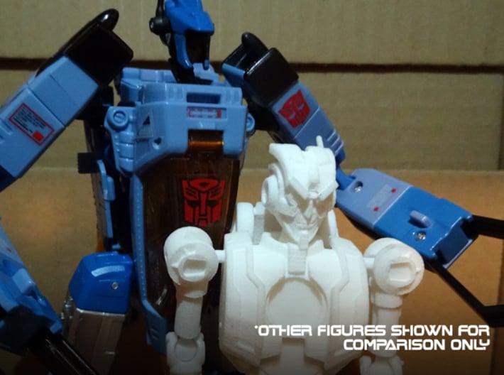 Transformers Comics Tribute - MTMTE Rung 3d printed I made him look cross.