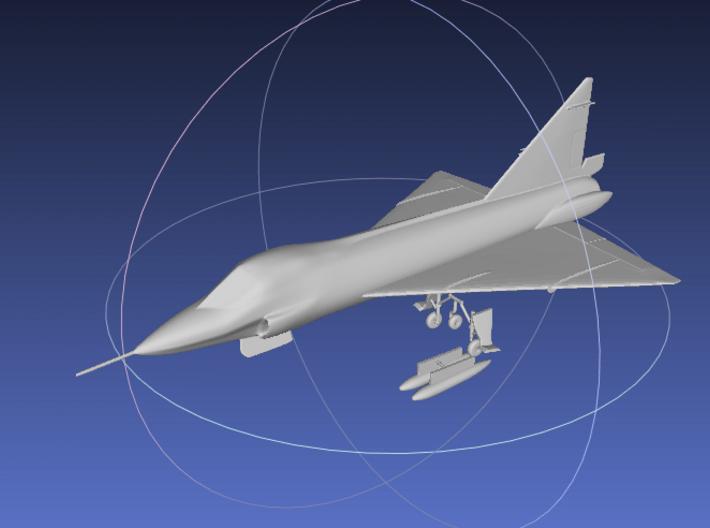 1/144 TF-102 Delta Dagger 3d printed