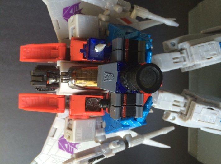 WORLD SMALLEST TRANSFORMERS REFLECTOR 3d printed Starscream not included