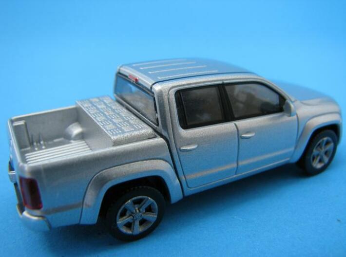 HO/1:87 Pickup cap + box set VW Amarok 3d printed Tool box