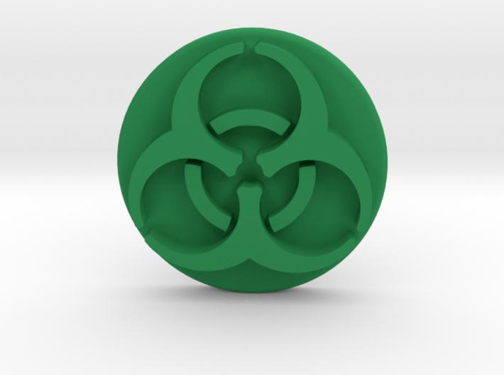 Pandemic Infection Marker -- Biohazard Symbol 3d printed