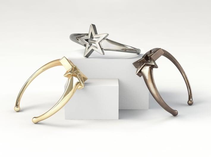 UpStar Bracelet (Size M) 3d printed