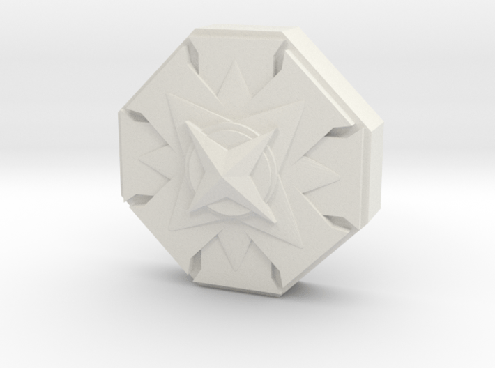 City Of Heroes Marker small 3d printed
