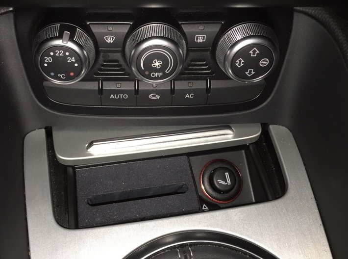 Audi TT dock for iPhone 6/6s/7/8/SE2 3d printed CarPlay dock for Audi TT with no iPhone