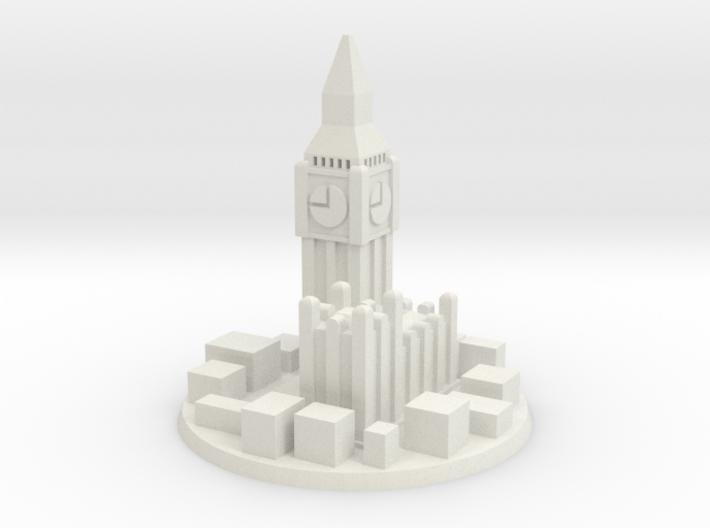 London City Marker 3d printed