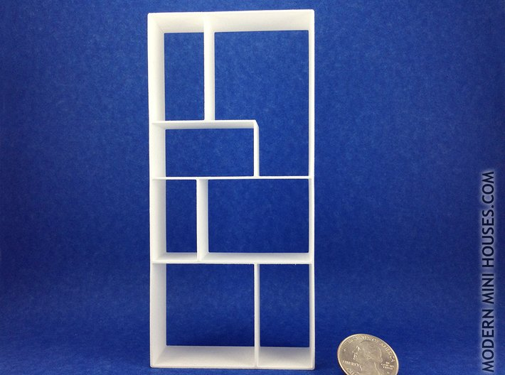 The Fixation 1:12 scale Bookshelf 3d printed