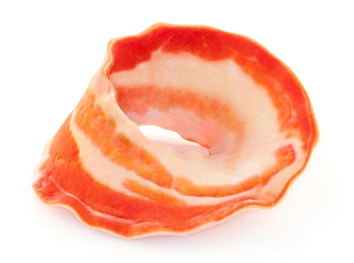Bacon Mobius Strip 3d printed